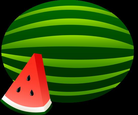 Watermelon Whole And Slice Free Clip Art Watermelon Cartoon Watermelon Clipart Watermelon