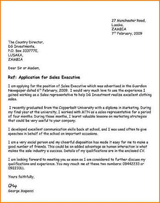 Effective Cover Letter Samples Endearing Cover Letter Sample For
