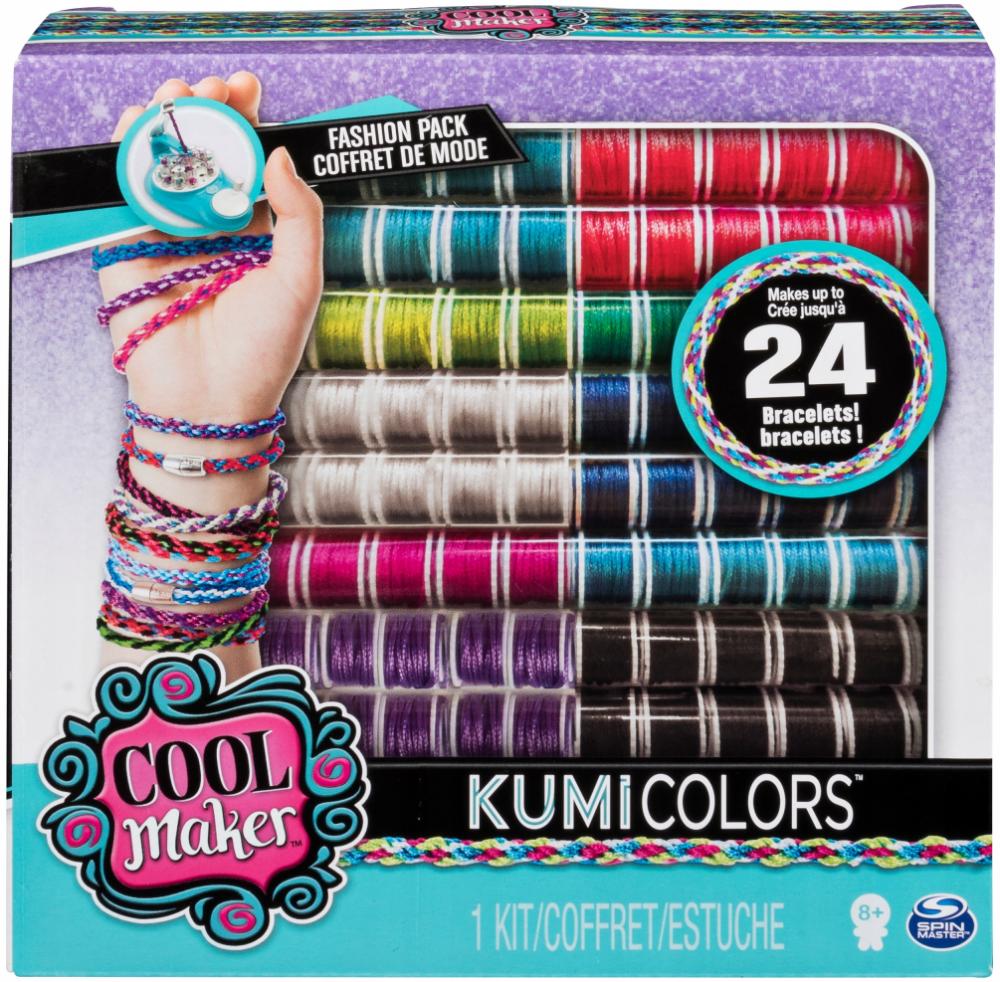 Cool Maker Kumi Wielki Zestaw Uzupelniajacy Nici Neon Fashion Activity Kits Jewelry Making Kit