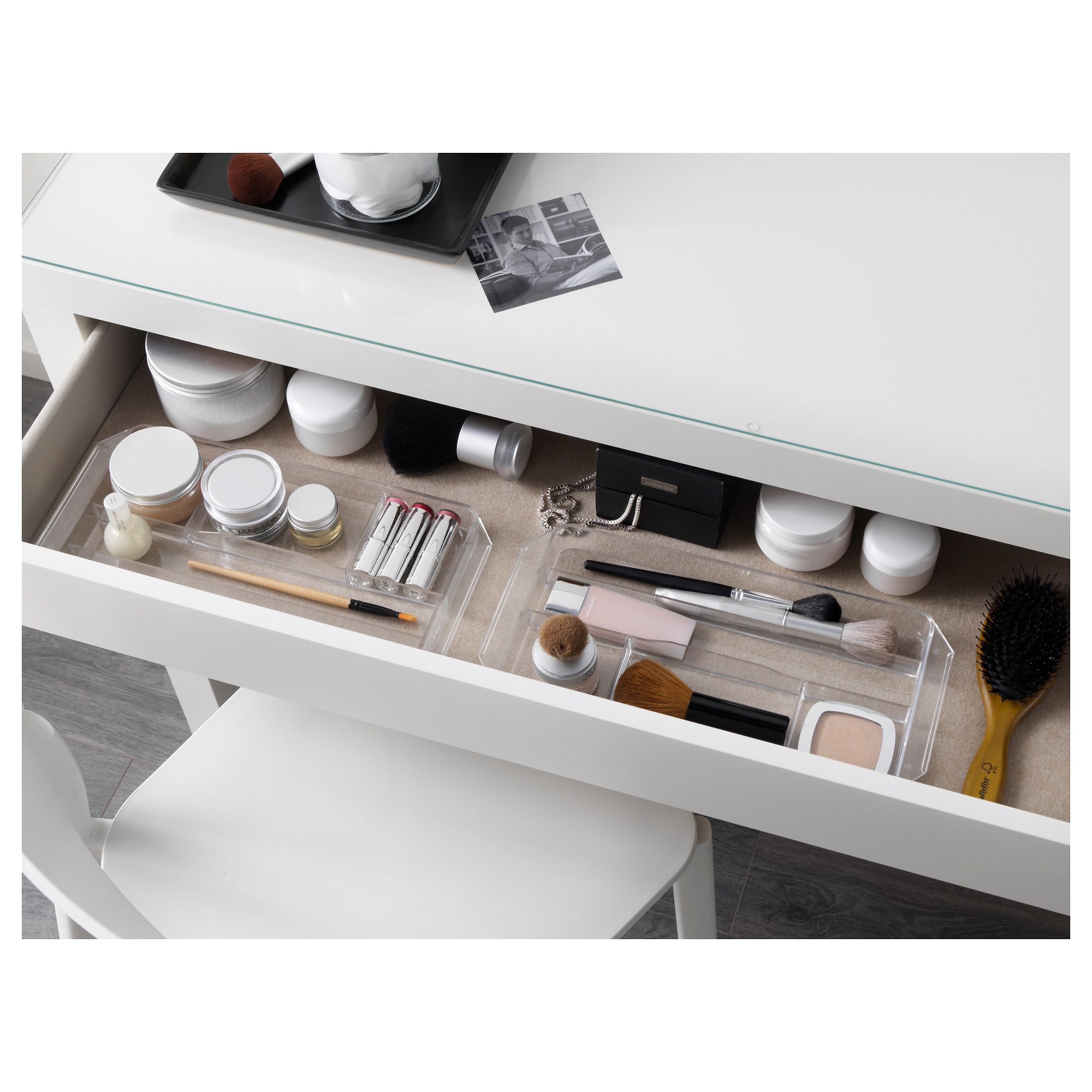 ikea malm dressing table white products in 2019 malm. Black Bedroom Furniture Sets. Home Design Ideas