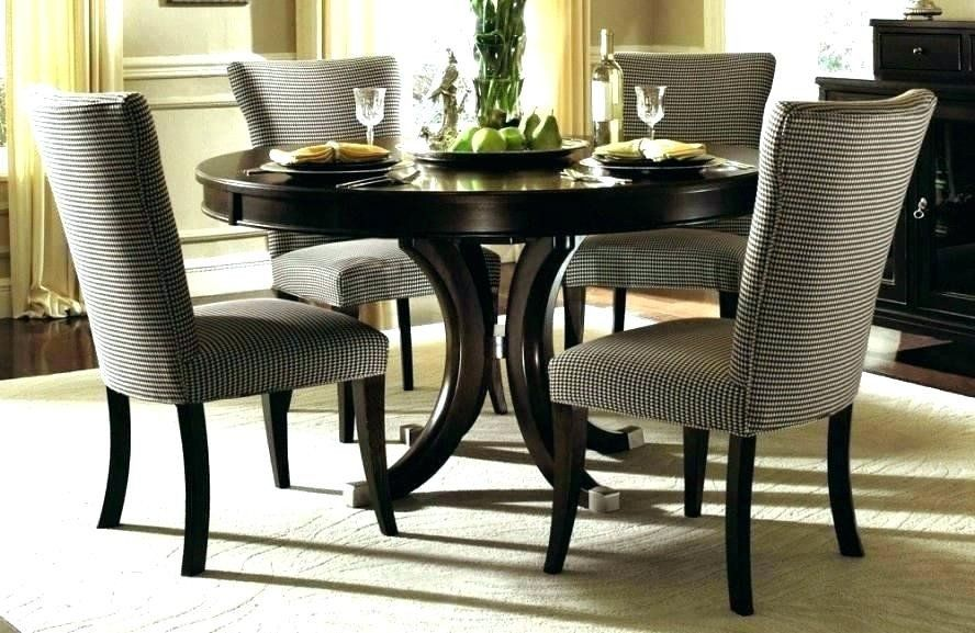 Formal Dining Room Table Sets Elegant Round Dining Room Sets Frowea Set Ruang Makan Meja Makan Meja Makan Bulat