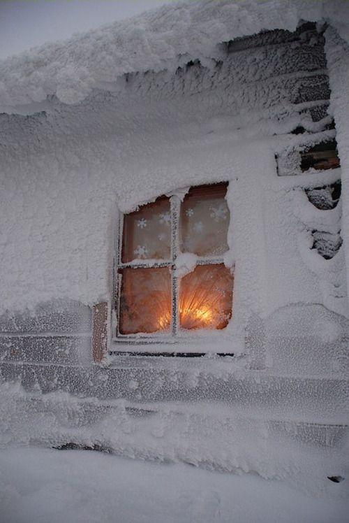 Pingl par annick champrenaut sur paysages d 39 hiver for Fenetre hiver