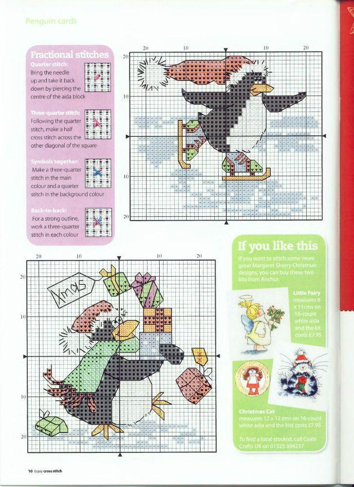 Pingouin Patineur Cross Stitch Cards Disney Cross Stitch Wedding Cross Stitch