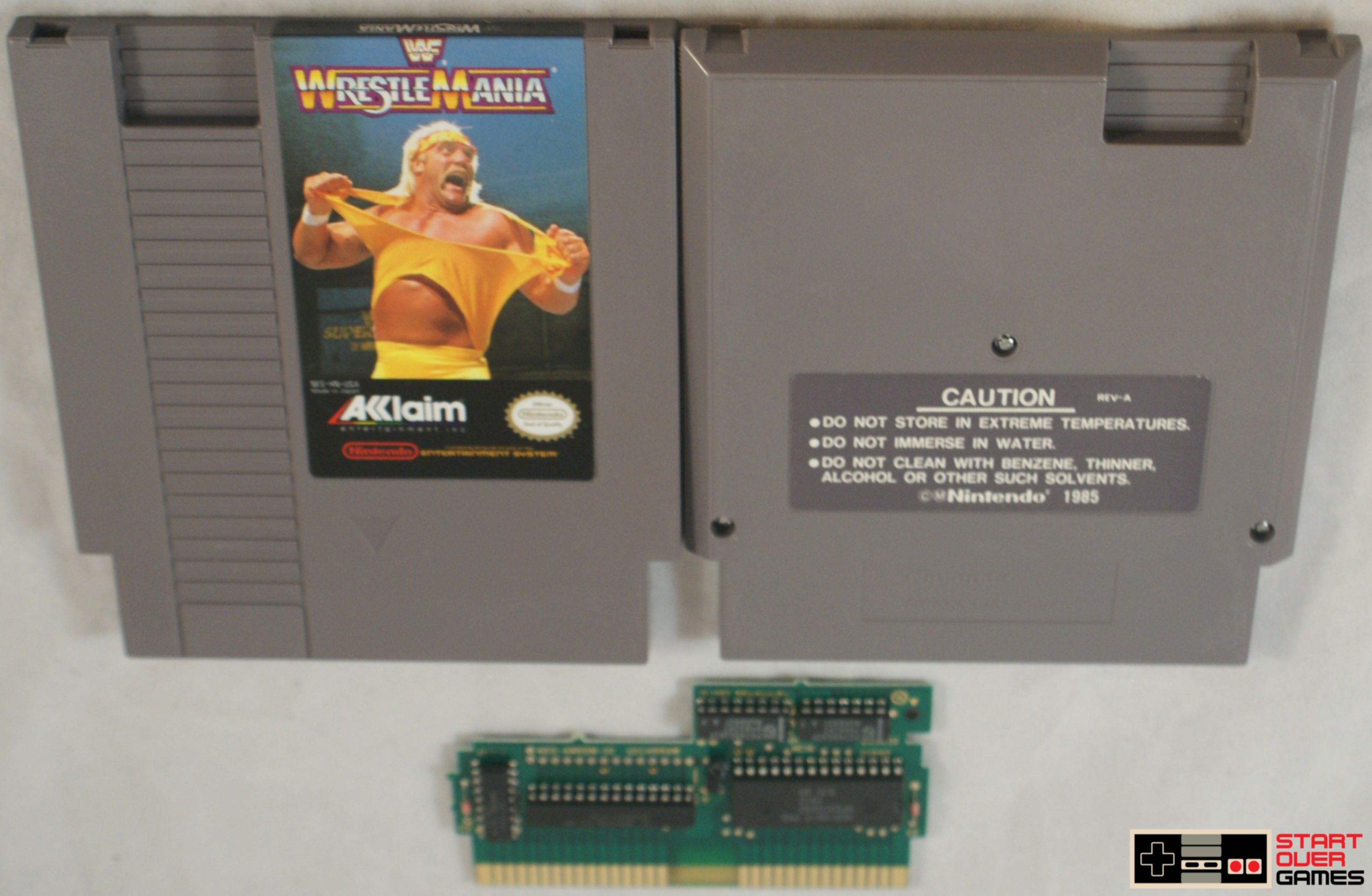 WWF Wrestlemania for the Nintendo Entertainment System