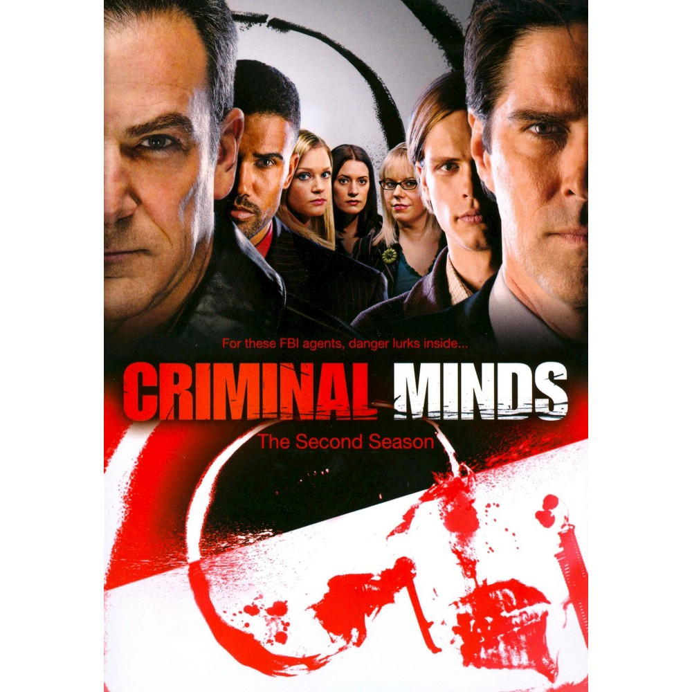 Criminal Minds The Second Season 6 Discs Criminal Minds