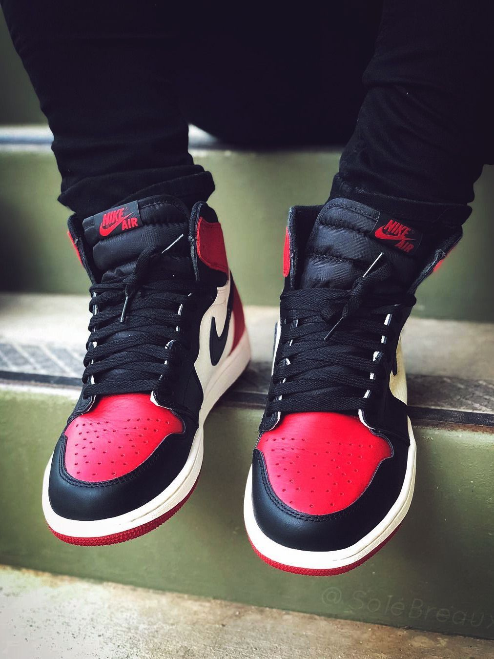 premium selection 501e1 86b9f Nike Air Jordan 1 Bred Toe - 2018 (by solebreaux ...