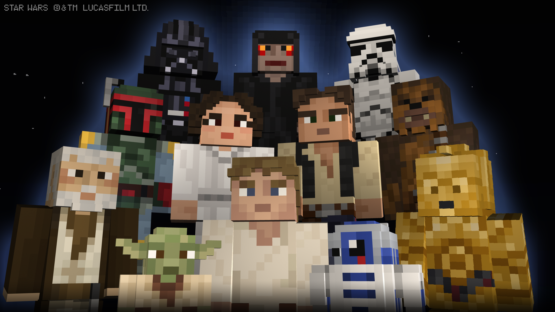 Star Wars Skins Bring The Force To Minecraft Starwars Com Star Wars Gifts Minecraft Skins Minecraft Skin