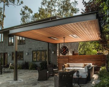 Can We Do Something Like This Instead Of A Pergola Idees Pergola Patio Couvert Amenagement Jardin