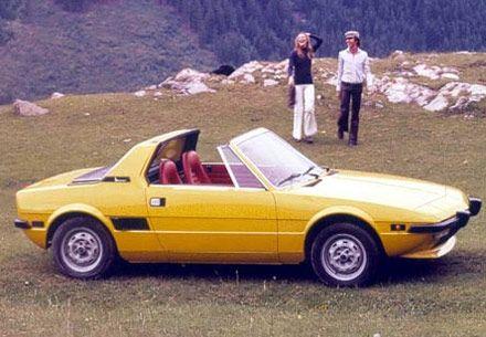 Yellow X1/9