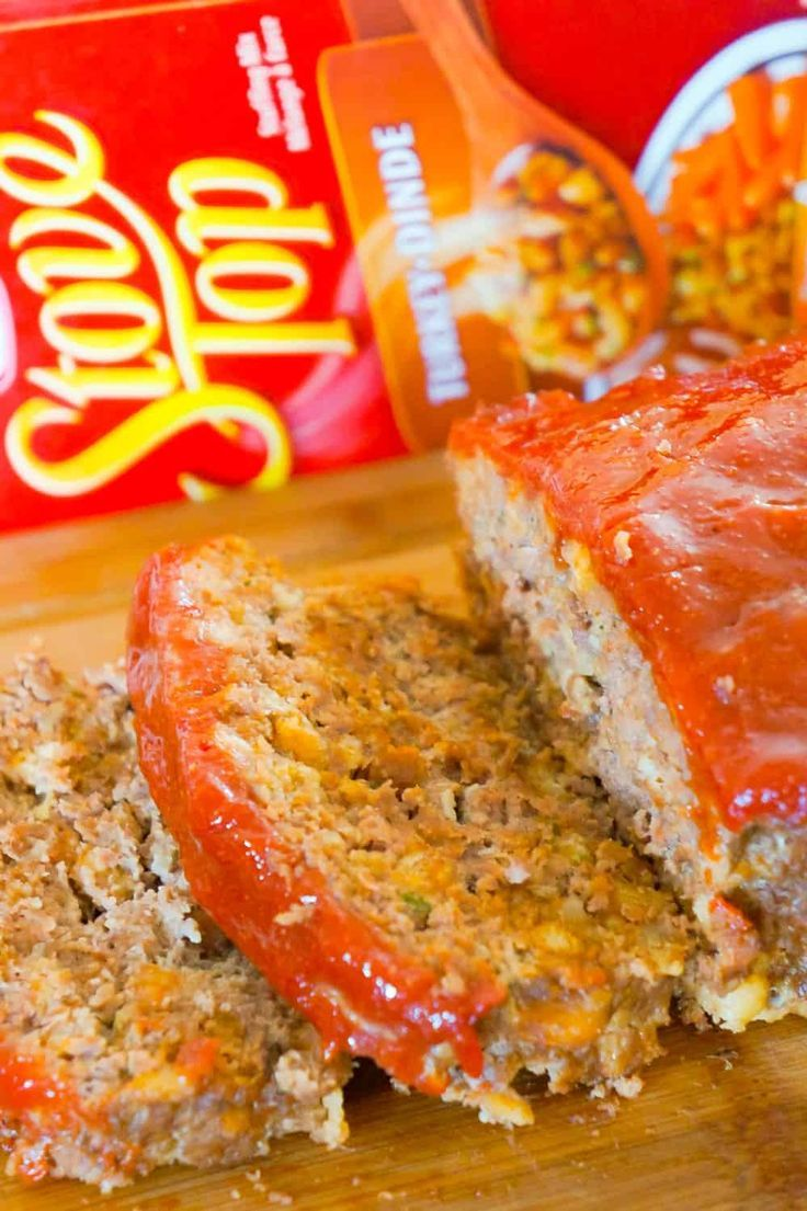 Meatloaf With Stuffing Is An Easy Ground Beef Dinner Recipe The Whole Family Will Love This