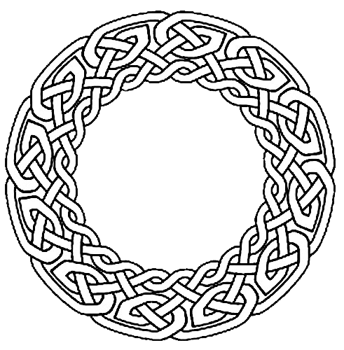 Celtic Cross A Circle Tattoo With Many Nodes Photo 2 Celtic Circle Celtic Designs Celtic Knot