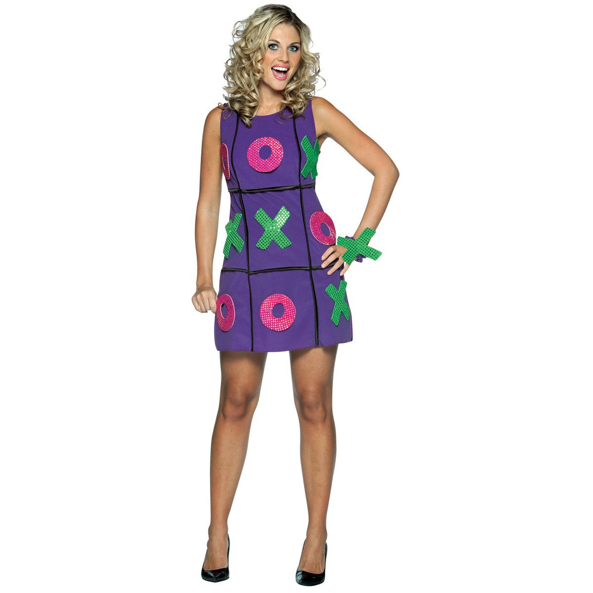 Adult dress party game