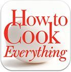 Photo of Jim Lahey's No-Work Bread Recipe inside Bittman's iPad Cooki…