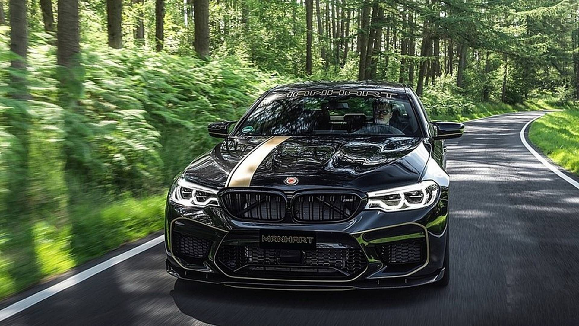 The New Manhart Mh5 700 Delivers 723 Horsepower Bmw Bmw M5 Bmw Cars Bmw m5 manhart racing mh5 700 2018