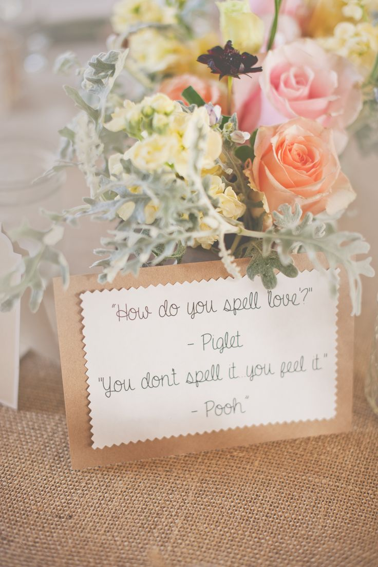 Quotes about wedding winnie the pooh wedding centerpiece natural quotes about wedding winnie the pooh wedding centerpiece natural rustic burlap courtesy of nine ph junglespirit