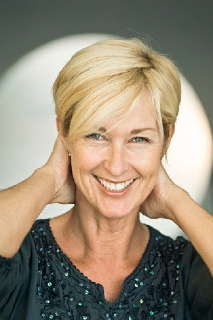 Short straight hairstyles for older women with side bangs   Beauty ...