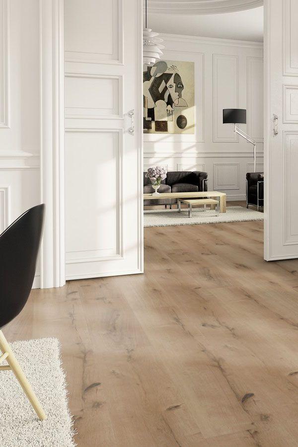 Vinylboden von ter Hürne klassisches helles Wohnzimmer mit