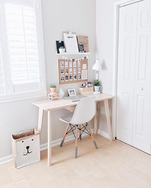 Bureau comment improviser un coin bureau lorsqu 39 on manque for Bureau petit espace
