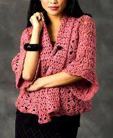artesanía de Tina: chaqueta de punto