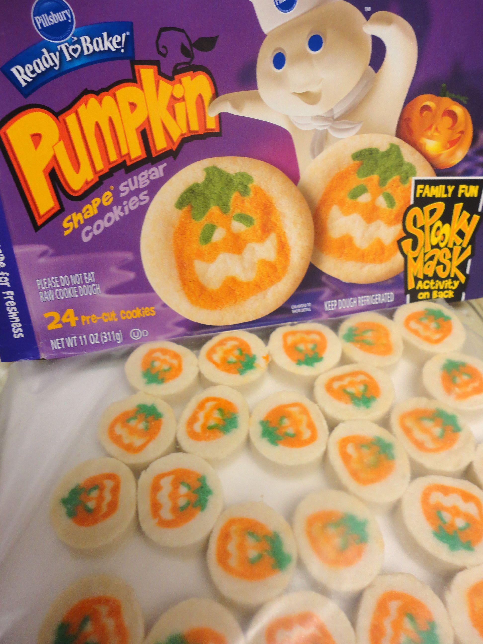 Pillsbury Halloween Sugar Cookies Heaven On Earth Food Pics