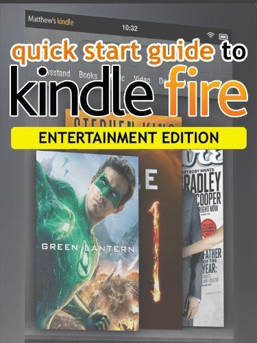 quick start guide to kindle fire entertainment edition by nicholas rh pinterest com Amazon Kindle Fire Tablet Kindle Fire Help