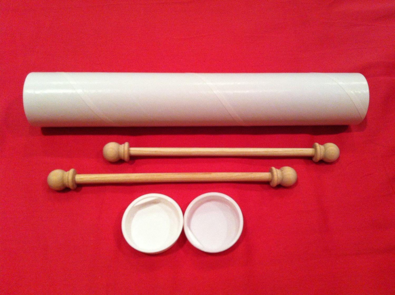 Set of DIY Small Scroll Invitation Kit (5/set) --- SAMPLE ...