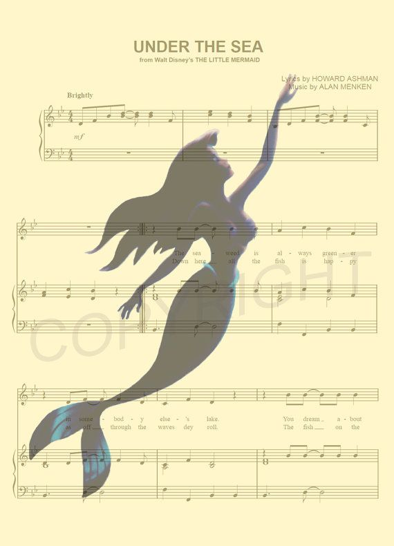 Hoi Ik Heb Een Geweldige Listing Op Etsy Gevonden Https Www Etsy Com Nl Listing 487312946 De Kleine Zeemeermi De Kleine Zeemeermin Onder De Zee Muzieknoten