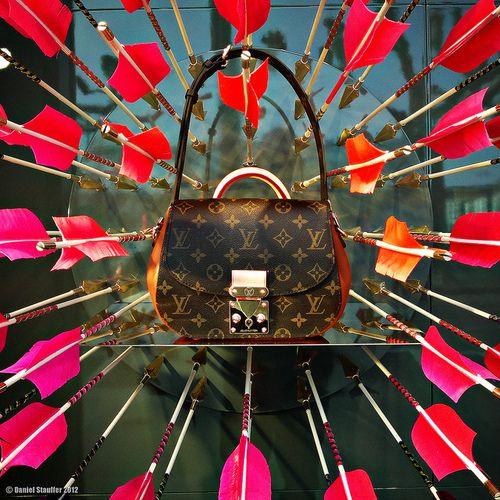 Louis Vuitton window display