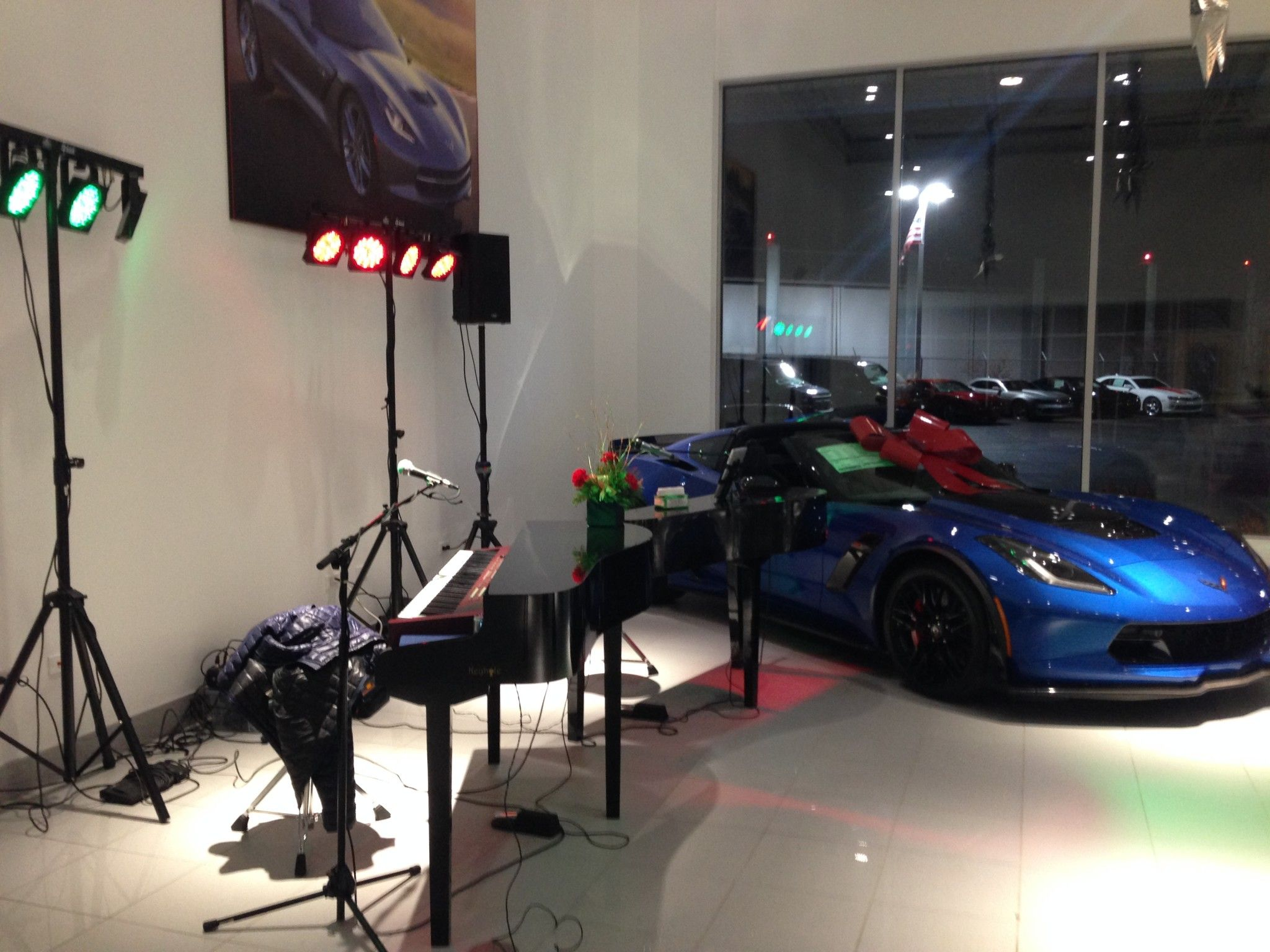 Wonderful Martin Chevrolet Of Crystal Lake, IL Held A Dual Holiday Party And Grand  Opening Event, And Robert And Emily Were Thrilled To Provide The  Entertainment!