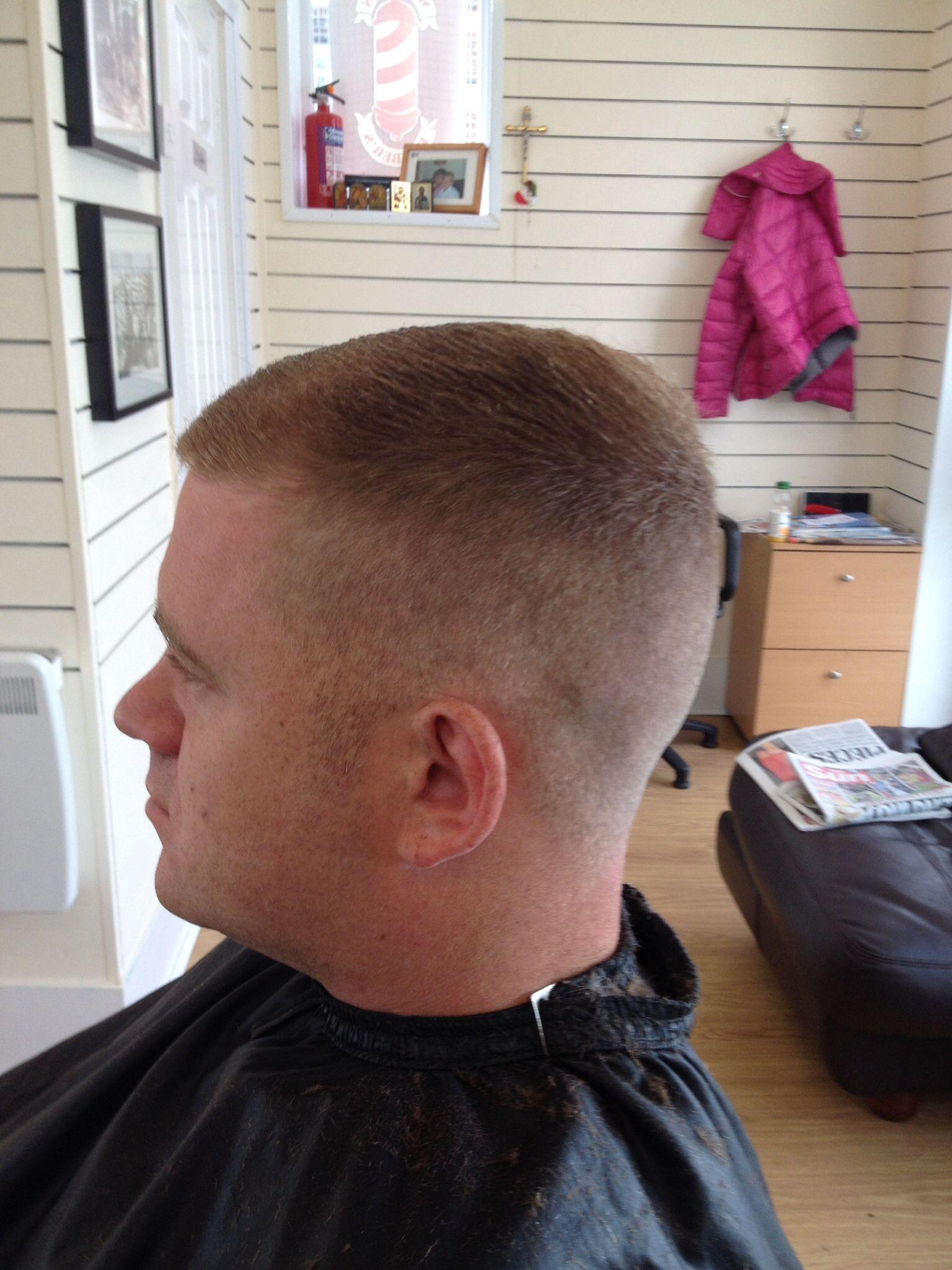 Buzz cut haircut men my first cut at  this morning  my hair cuts  pinterest  this