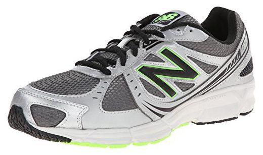 on sale a6c7f 8c14a New Balance Men 's m470 V4 Running Shoe, Silver/Green, 12 D ...