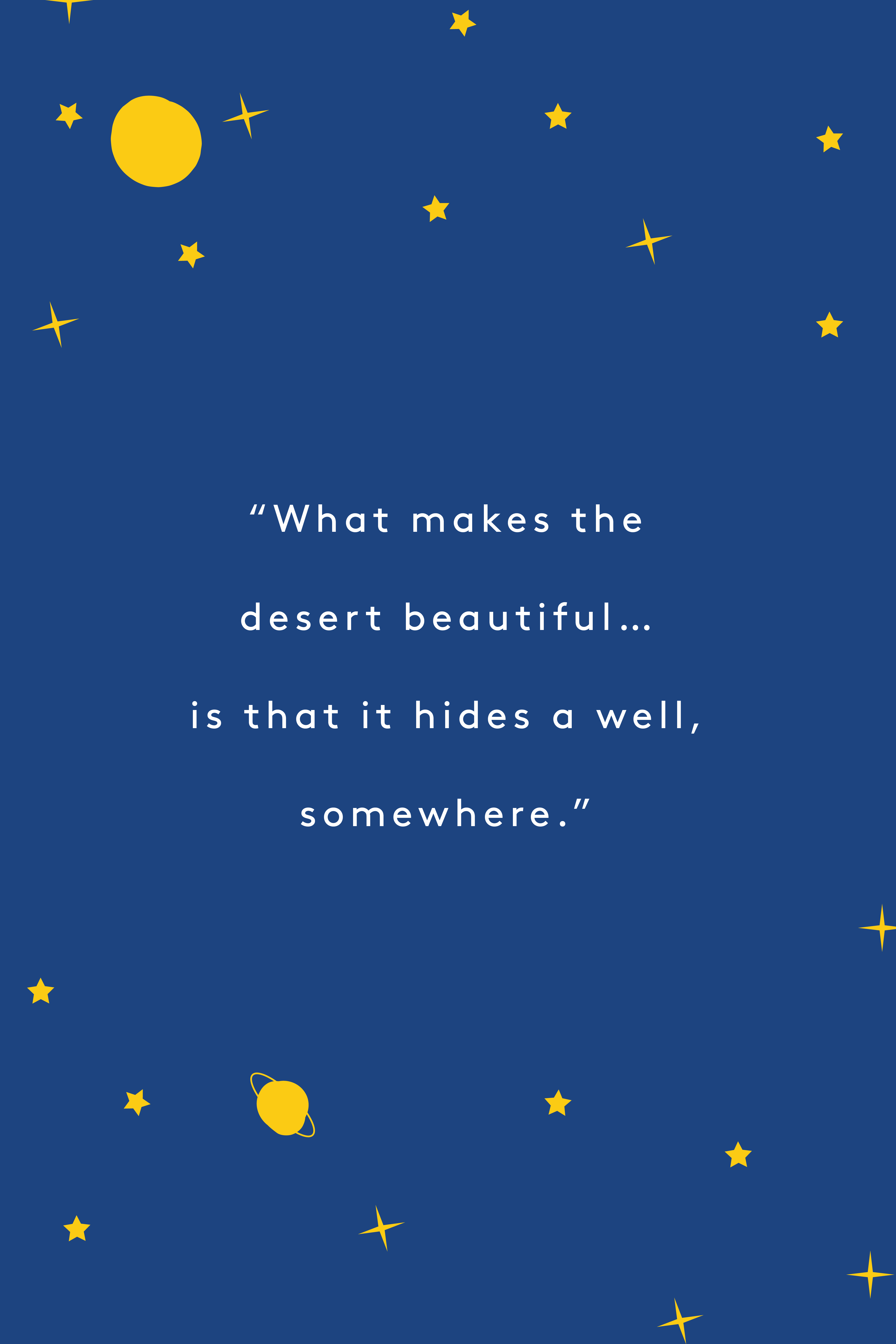 "These Are Our Very Favorite Quotes From ""The Little Prince"