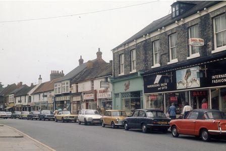 Hallgate, Cottingham in the 1970s