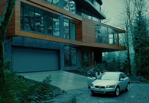 Movie Star Houses Twilight House Cullen House Twilight