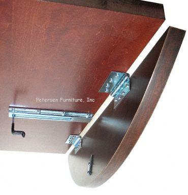 Drop Leaf Table Hardware Detail   Hinge Style I Want