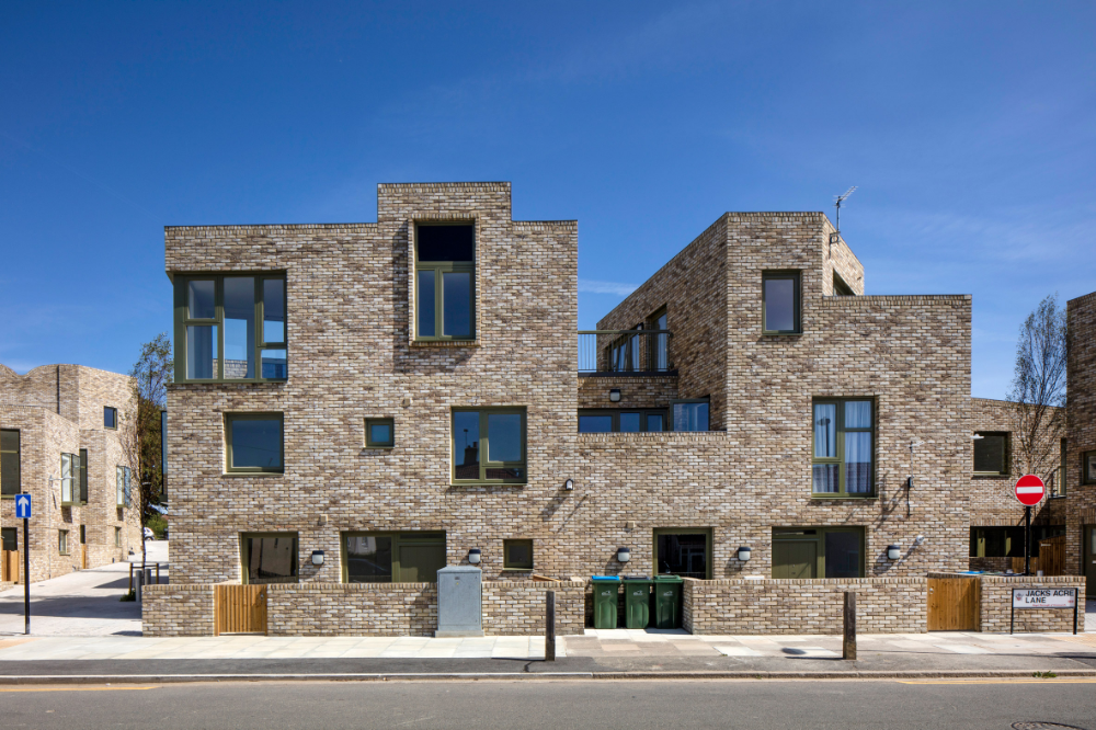 Peter Barber Architects Creates Five Terraces Of Affordable Housing In Greenwich Brick Architecture Affordable Housing Architect