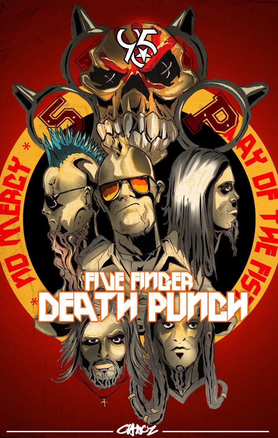 Epic 5fdp Knucklehead 5fdp In 2019 Five Fingers Death Bmth