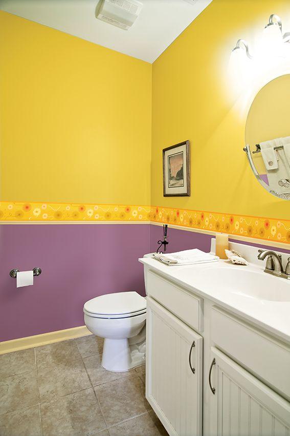 Con esta propuesta tu #baño lucirá lleno de vida! todo empieza con ...