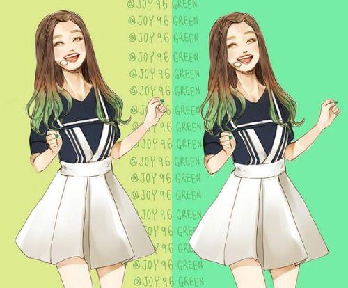 Red Velvet | Happiness fan art - Joy