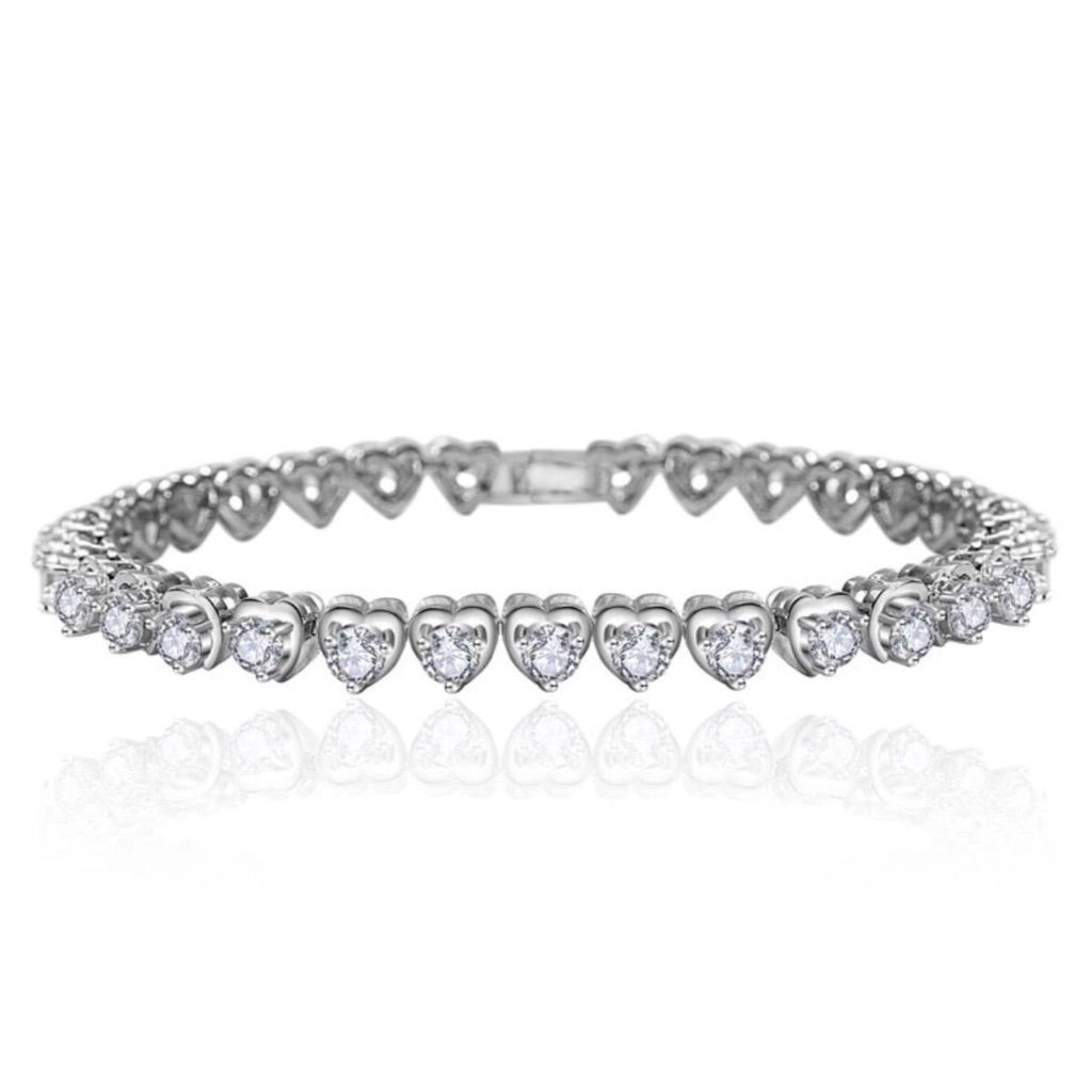 Coming soon swarovski crystals heart bracelet products