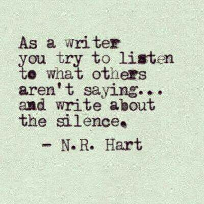 What Others Arent Saying Hart Words To Live By Writing Quotes