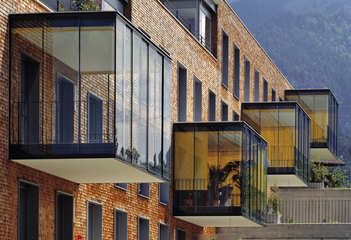 Baumschaler + Eberle, Residential Building Nüziders, 1996