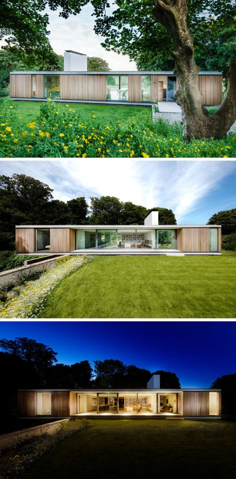 Ström Architects Have Designed This New Contemporary Home In Swanage England That S A Replacement