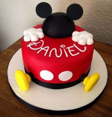 Birthday Cake Boys Mickey Mouse Party Ideas 56+ New Ideas #mickeymousebirthdaypartyideas1st