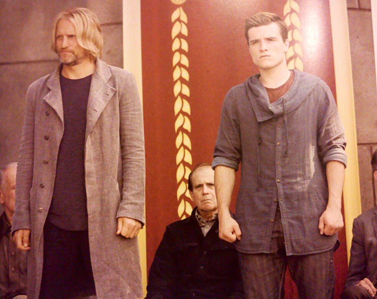 Haymitch and peeta