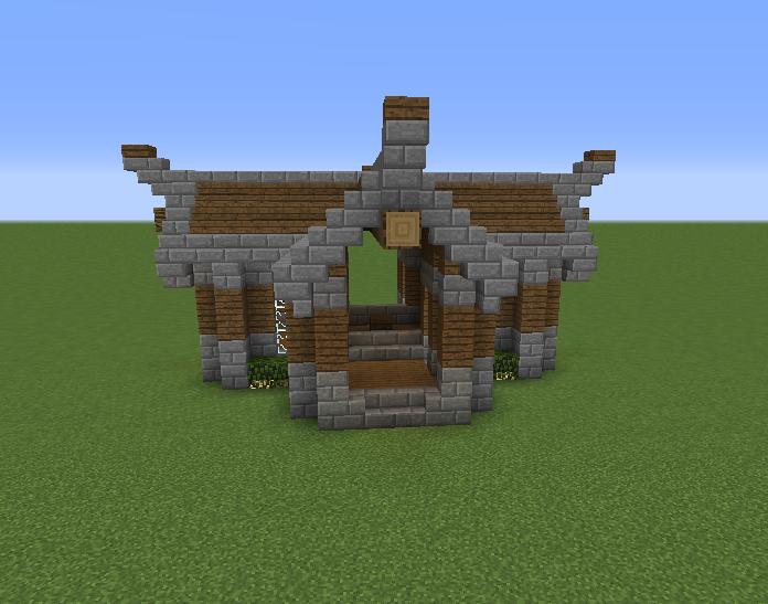 Rustic Enchanting House - Grabcraft