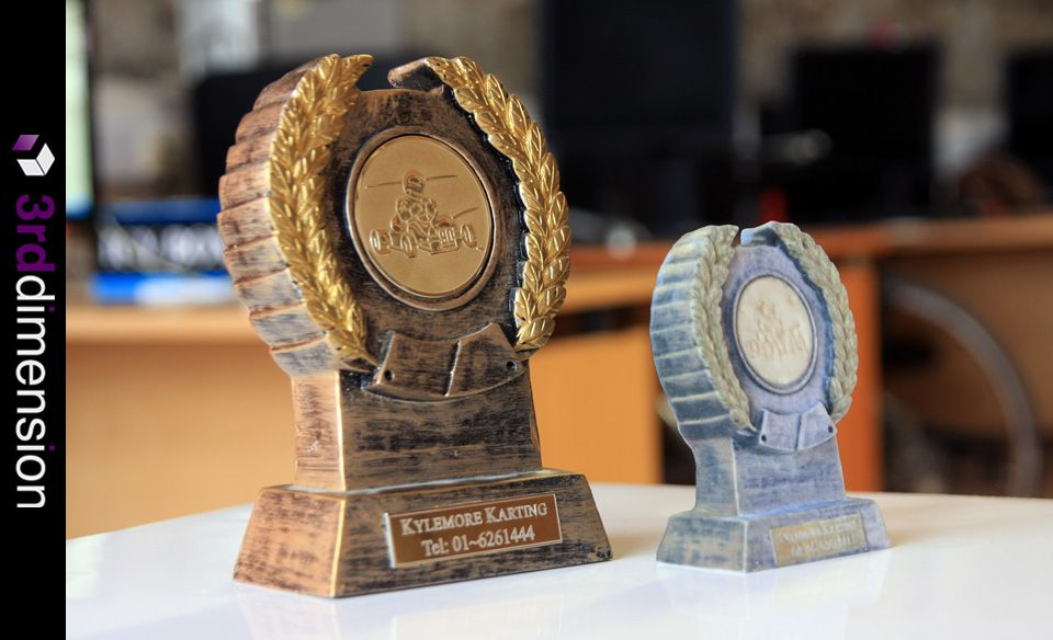 Trophy - 3D Printing, 3D Printed Replica Trophy