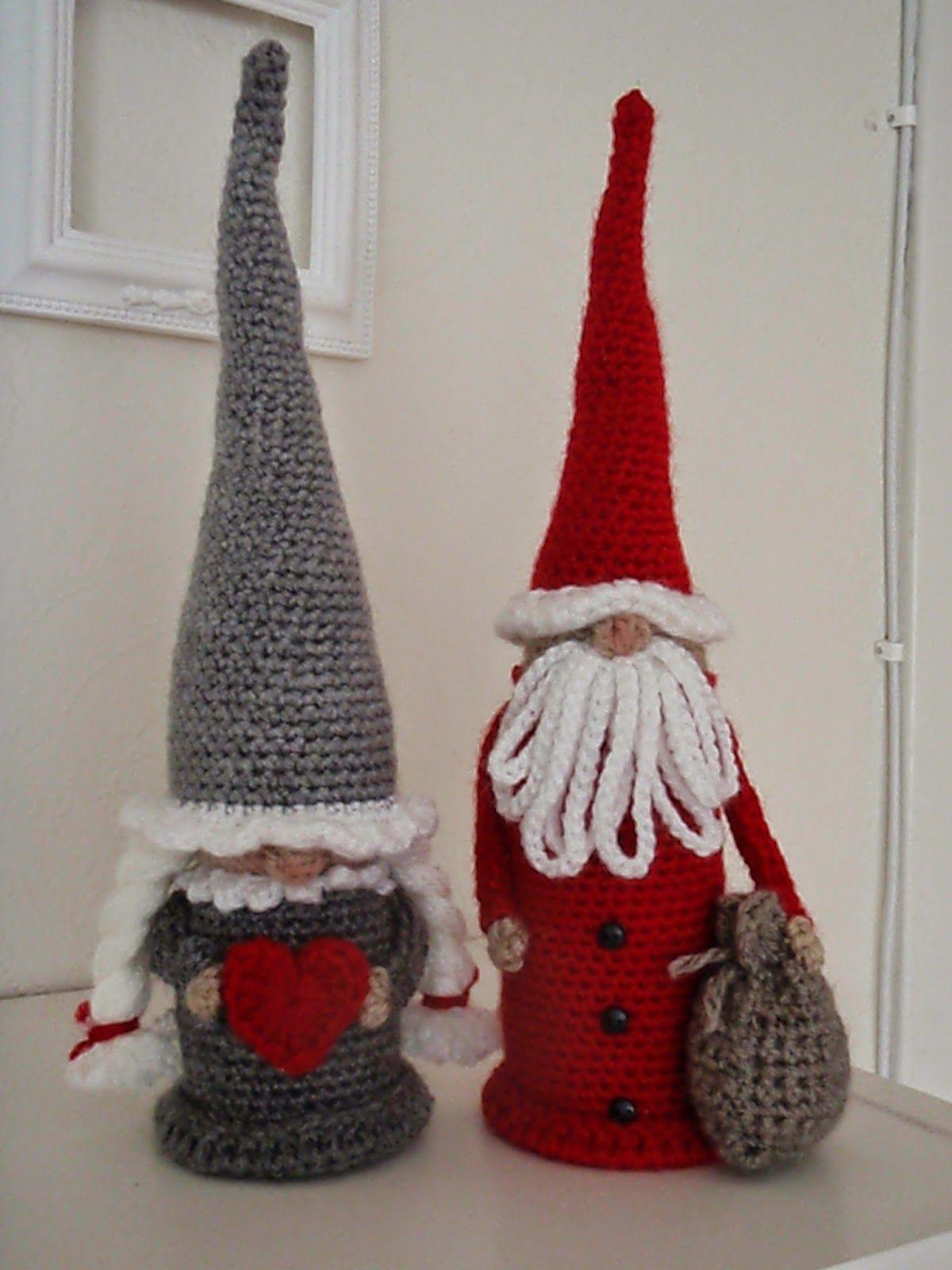 Pin von Sandra Lehr auf Christmas Crochet | Pinterest | Wichtel ...