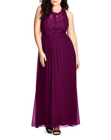 City Chic Lace Bridesmaid Dress Bloomingdale S Plus Size