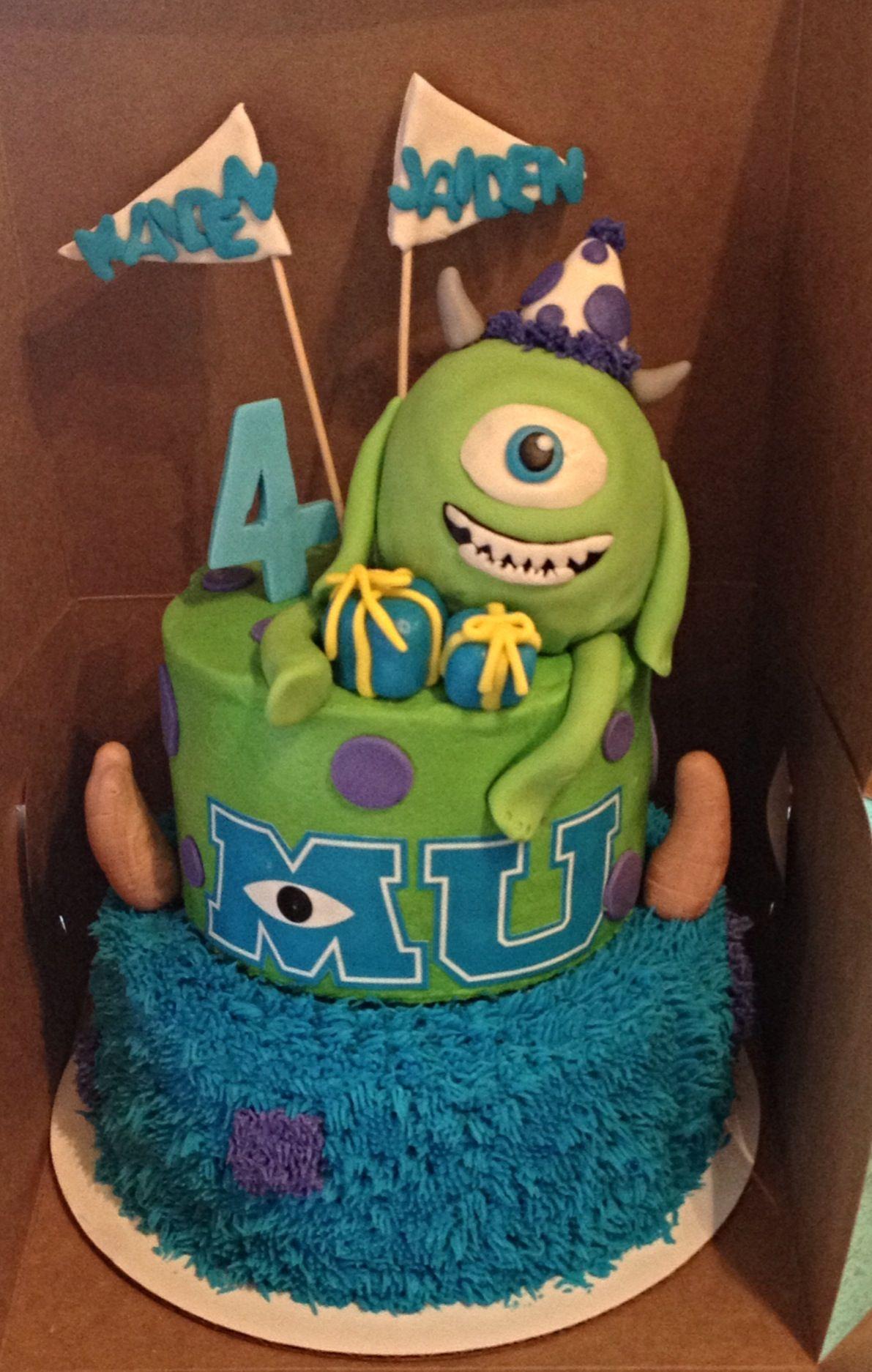 Astounding Monsters University Birthday Cake Monster Inc Birthday Monster Funny Birthday Cards Online Hendilapandamsfinfo